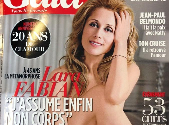 "Lara Fabian pose nue pour Gala : ""Je me sens enfin en paix avec moi-même"""