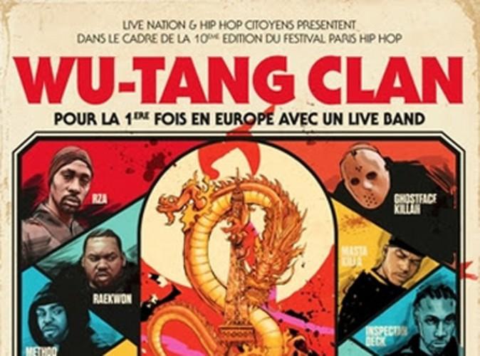 Le légendaire Wu-Tang Clan débarque à Paris !