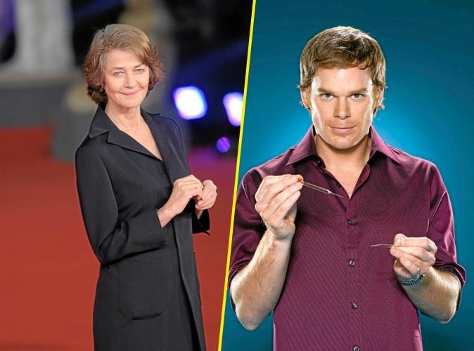 Le saviez-vous ? Charlotte Rampling face à Dexter !