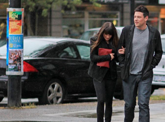 Lea Michele : de retour sur le tournage de la nouvelle saison de Glee !