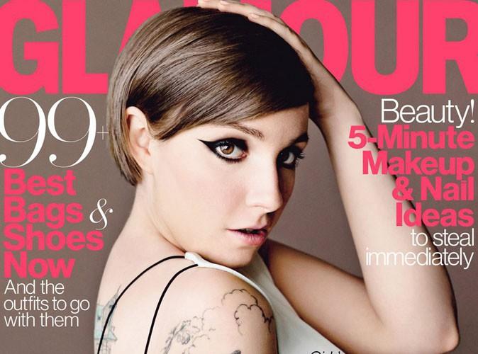 """Lena Dunham : la star de """"Girls"""" s'offre une nouvelle couverture Glamour !"""