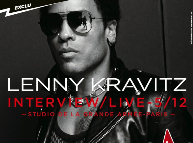 Lenny Kravitz : en showcase demain à Paris !