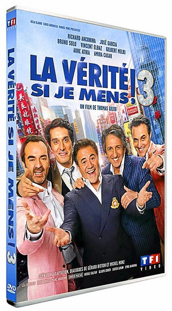 La vérité si je mens 3, DVD TF1 Vidéo. 19,99 €.