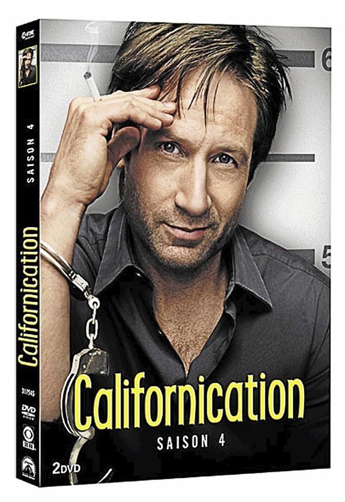 Californication, saison 4, DVD Paramount. 29,99 €.