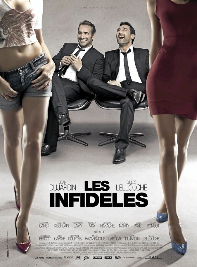 Les infidèles, DVD TF1 Vidéo 19,99 €.