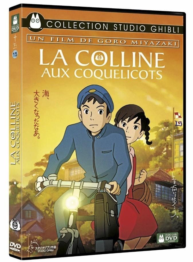 La colline aux coquelicots, Goro Miyazaki, Disney. 19,99 €.