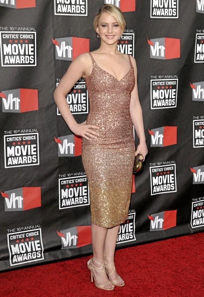 La sublime Jennifer Lawrence !