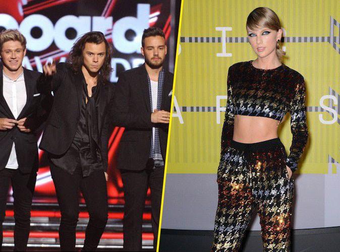 Les One Direction et Taylor Swift battent tous les records !