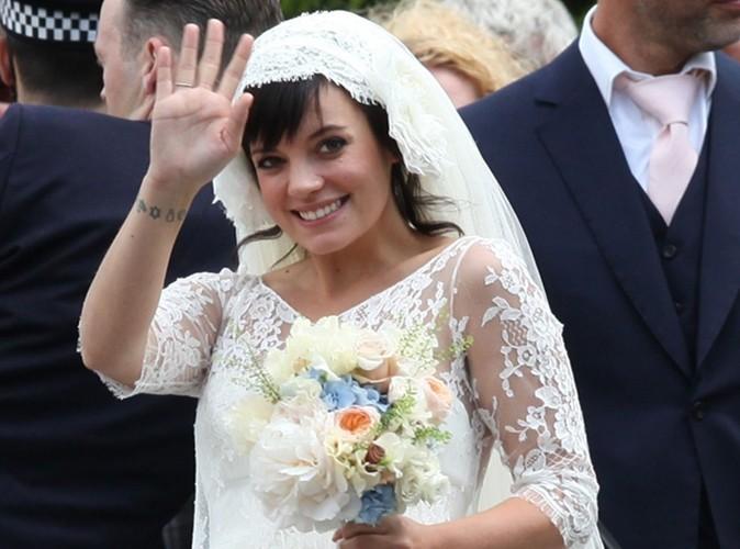Lily Allen : mariée et…enceinte !