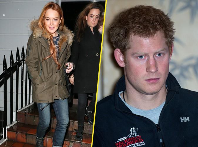 """Lindsay Lohan """"a toujours eu le béguin pour le prince Harry. Elle bave sur lui à chaque fois qu'il passe à la télé"""" !"""