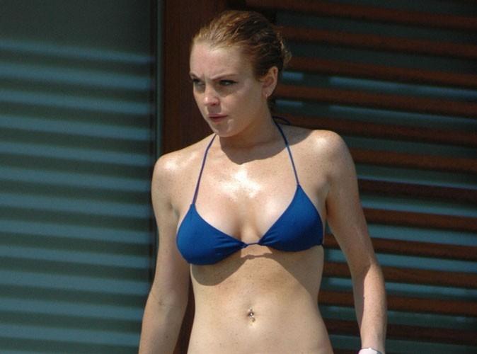Lindsay Lohan : bikini sexy et bronzette party pour célébrer son nouveau rôle !