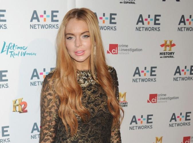 Lindsay Lohan : c'est dans la boîte pour Liz & Dick !