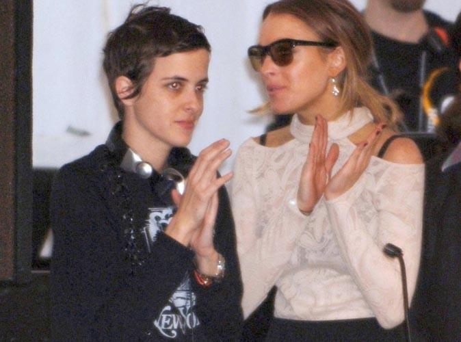 Lindsay Lohan : elle a passé la Saint Valentin chez son ex Samantha Ronson !