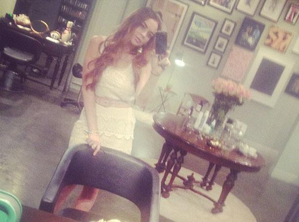 Lindsay Lohan : elle redevient rousse !