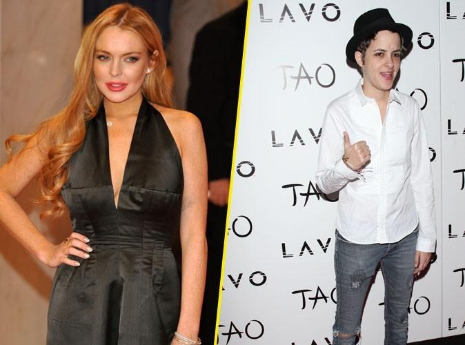 Lindsay Lohan et Samantha Ronson : très proches juste le temps d'une soirée ou bien plus ?