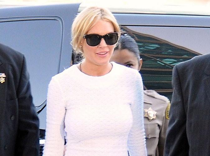 Lindsay Lohan voulait rendre son collier le lendemain du vol !