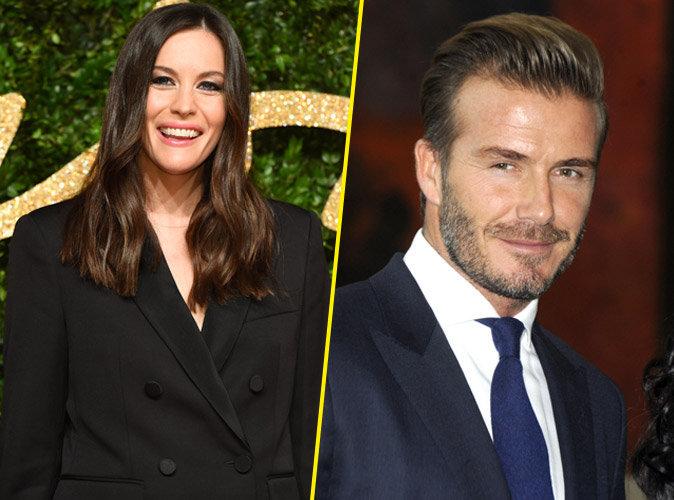 Liv Tyler : David Beckham ? Un parrain en or !