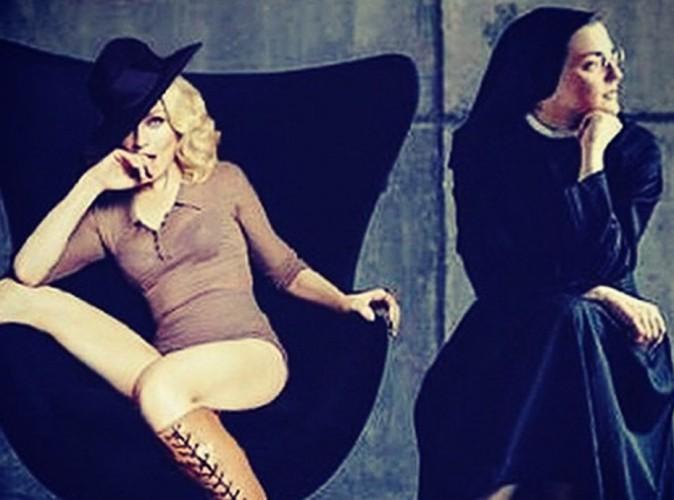 """Madonna : elle n'est pas passée à côté de """"Like A virgin"""" version Soeur Cristina !"""