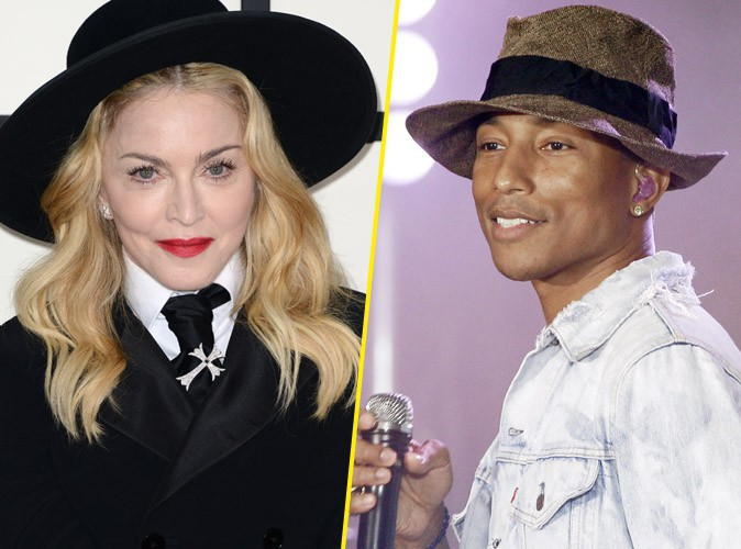 Madonna : elle s'offre un duo avec Pharrell Williams ?