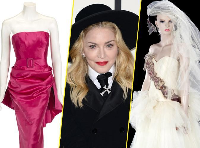 Madonna : elle vend sa robe de mariée aux enchères !