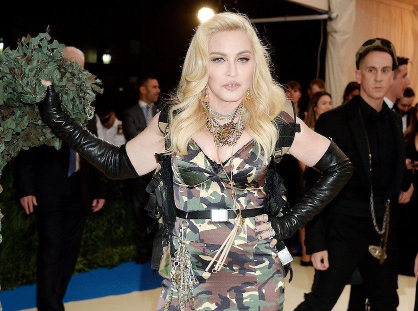 Madonna : Il lui arrive une improbable mésaventure !