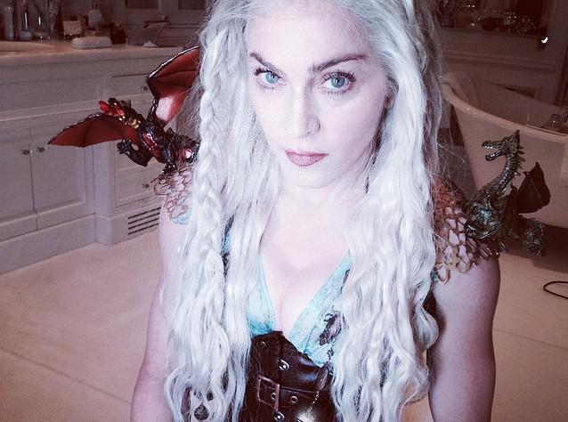 Madonna se mue en Daenerys Targaryen pour Pourim !