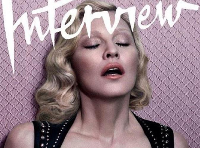 """Madonna topless pour des confessions : """"Je suis devenue très obsédée par la mort !"""""""