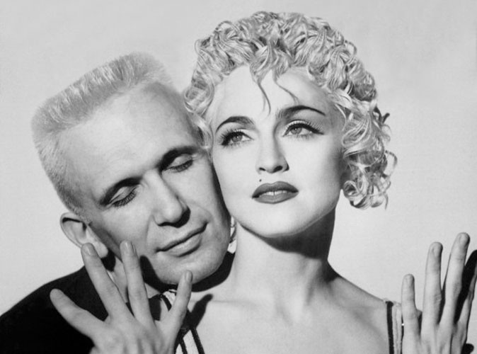 Madonna : toujours fan de Jean-Paul Gaultier !