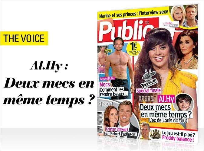 Magazine Public : Al.Hy (The Voice) en couv !