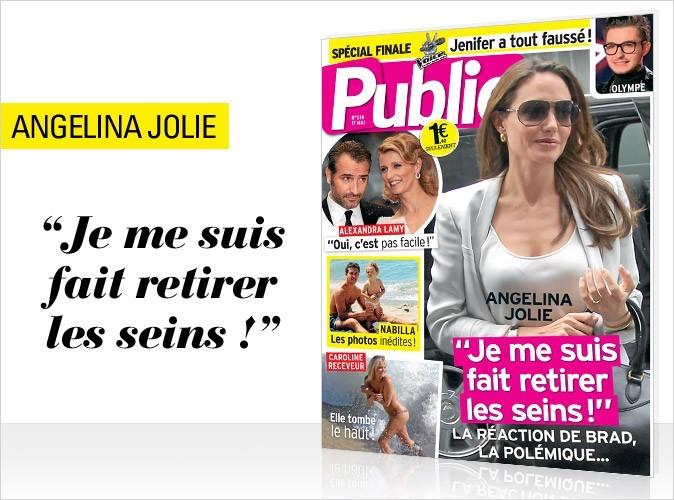 Magazine Public : Angelina Jolie en couverture !