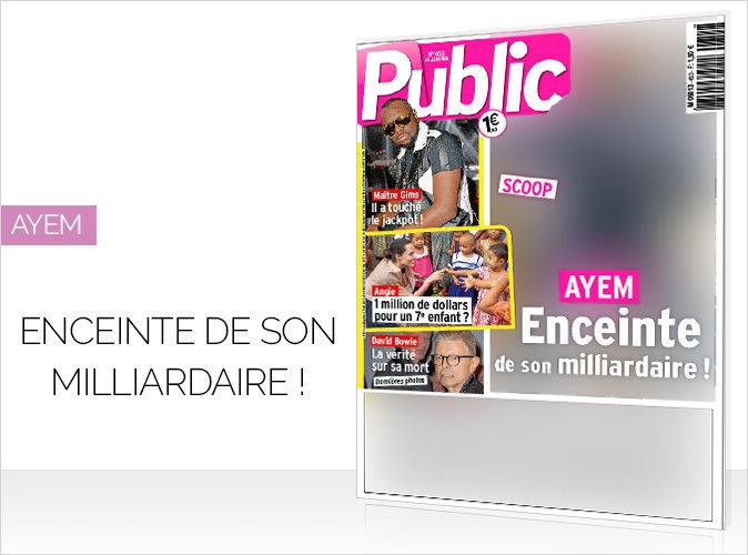 Magazine Public : Ayem : la célèbre animatrice télé enceinte !