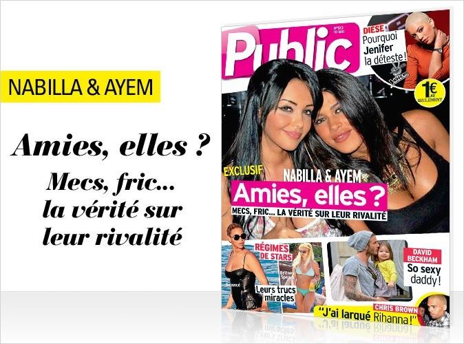 Magazine Public : Ayem et Nabilla en couverture !