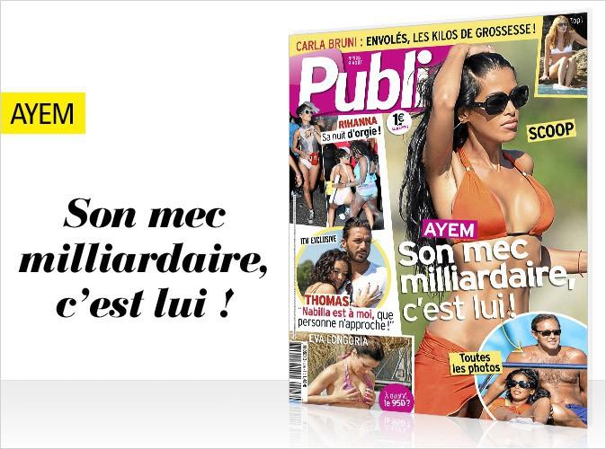 Magazine Public : Ayem et son milliardaire pour la première fois en couverture !