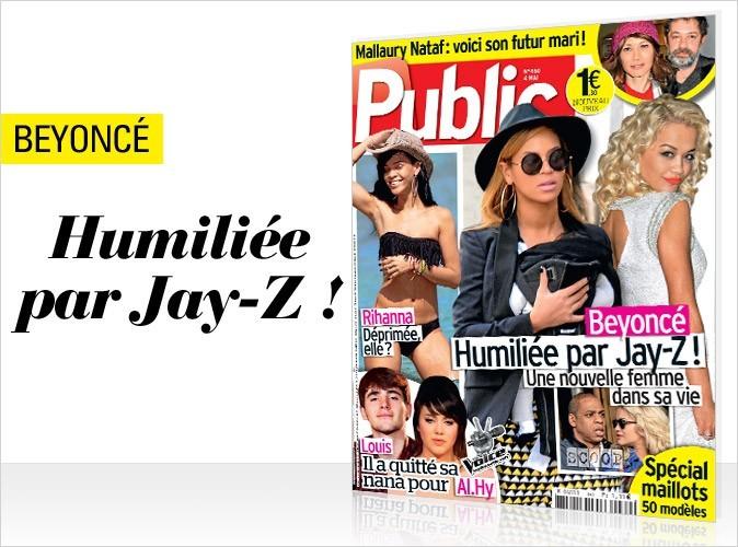 Magazine Public : Beyoncé en couv !