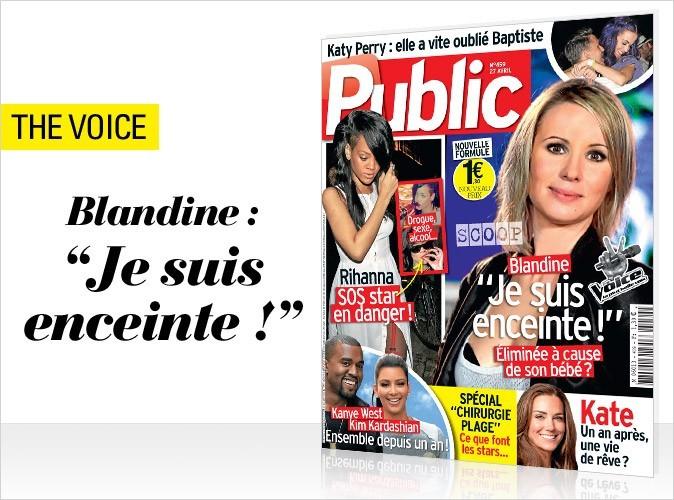 Magazine Public : Blandine (The Voice) en couv !