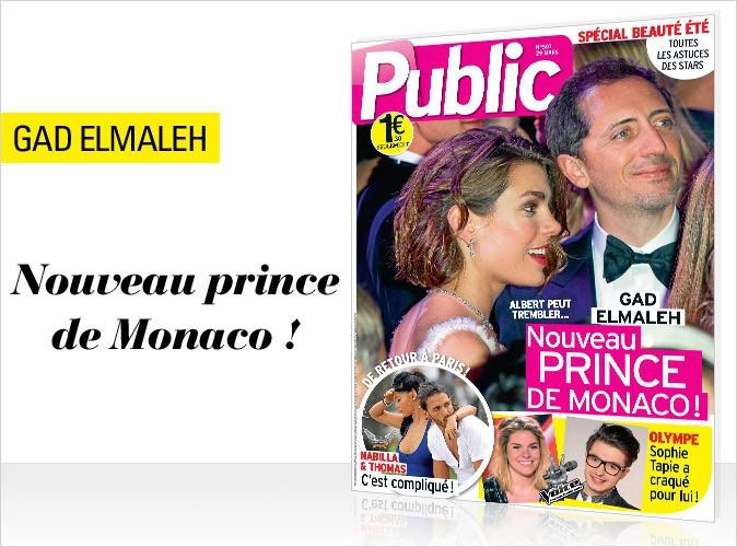 Magazine Public : Charlotte Casiraghi et Gad Elmaleh en couverture !