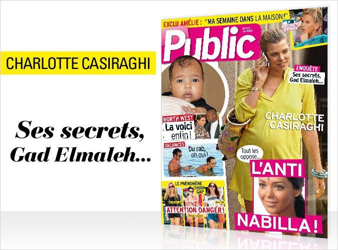 Magazine Public : Charlotte Casiraghi et Nabilla en couverture !