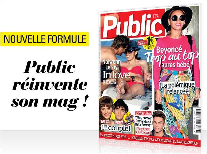 Magazine Public : découvrez la nouvelle formule avec Beyoncé en couv !