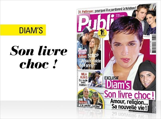 Magazine Public : Diam's en couv !