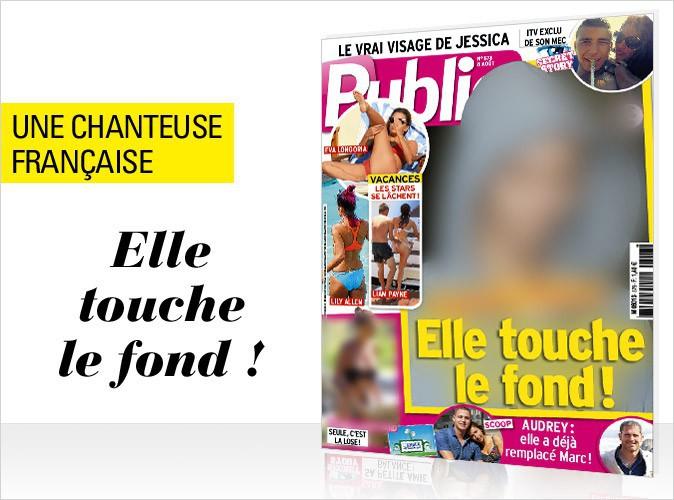 Magazine Public : en couverture, une star française qui touche le fond !