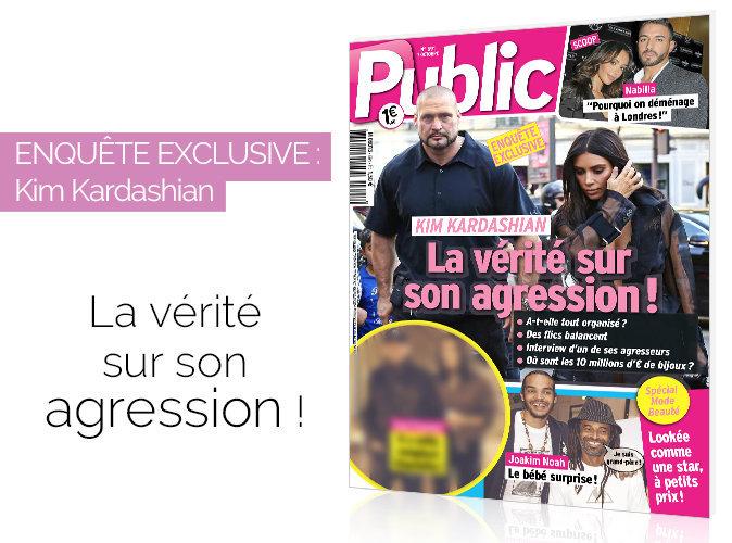 Magazine Public : Enquête exclusive : Kim Kardashian : la vérité sur son agression !