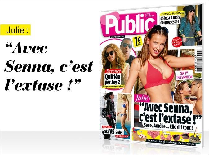 Magazine Public : Julie, Beyoncé et Victoria Beckham en couv !