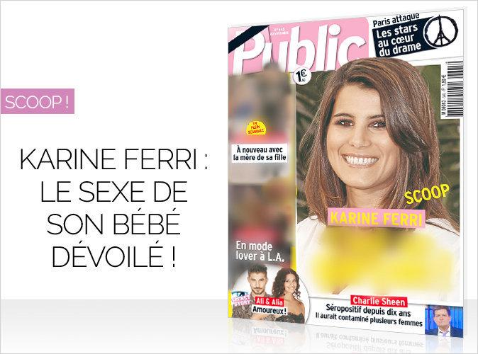 Magazine Public : Karine Ferri en couverture ! Scoop sur son bébé…