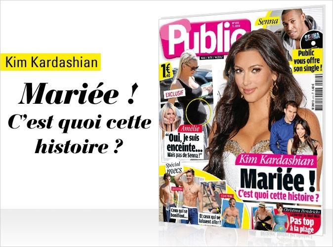 Magazine Public : Kim Kardashian en couv !