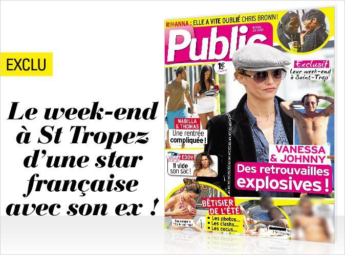 Magazine Public: les retrouvailles explosives d'une star française avec son ex en couverture!