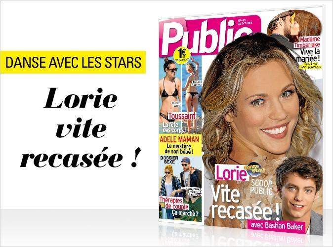 Magazine Public : Lorie en couv !