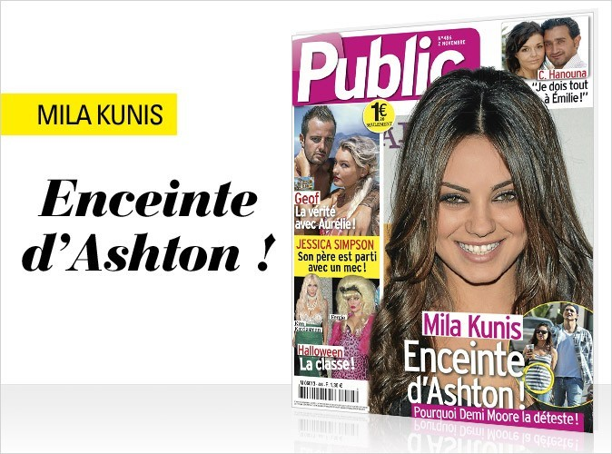 Magazine Public : Mila Kunis en couv !