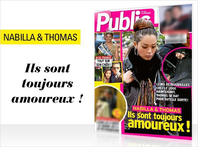 Magazine Public : Nabilla et Thomas en couverture... Ils sont toujours amoureux !