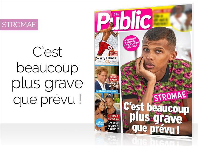 Magazine Public : Révélations exclusives : Stromae en couverture... C'est beaucoup plus grave que prévu !