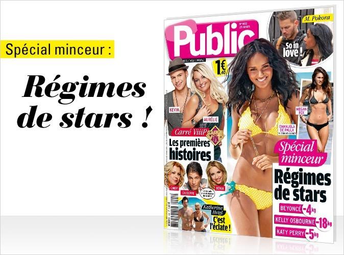 Magazine Public : tous les régimes de stars en couv !